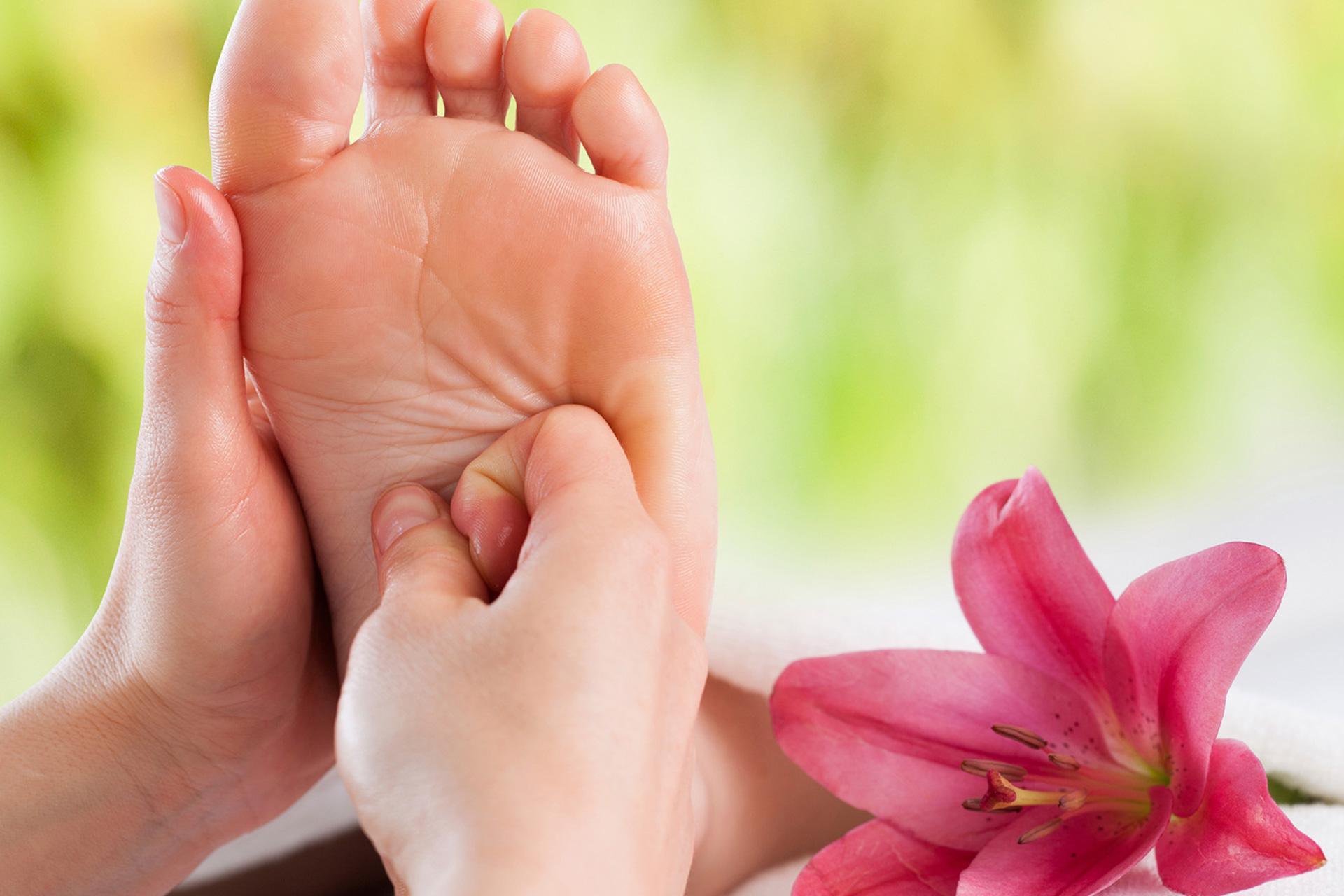 Refleksna masaža stopala